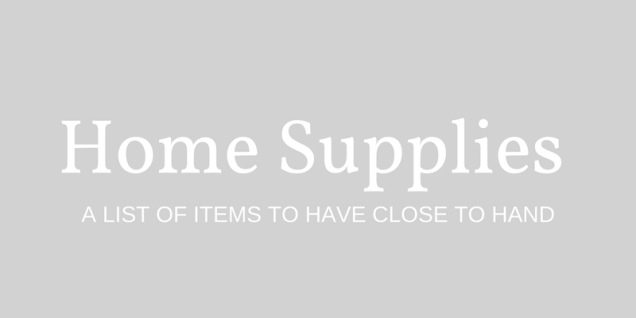 home-supplies